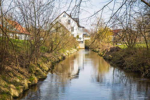 Mühle am Fluß