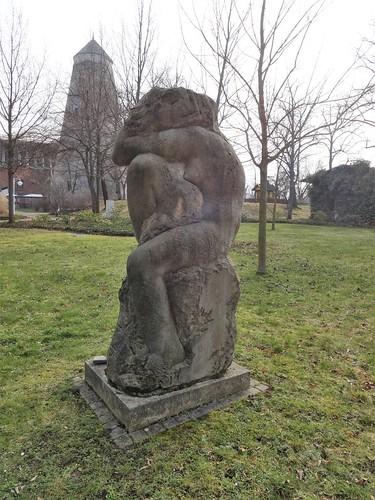 2002 Schönebeck/E. Große Kauernde von Stefan Ahrens Kurpark in 39218 Salzelmen