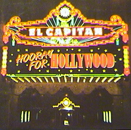 Wizard at the El Capitan Theatre.