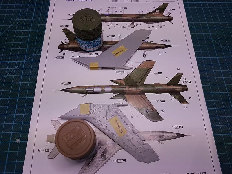 Trumpeter 1/72 F-105G Wild Weasel - Sida 2 31869810137_446ab0cbbc_c