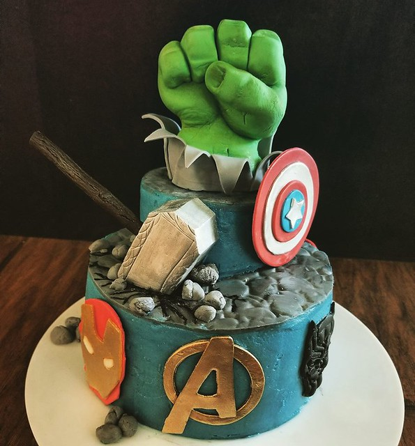 Avengers Cake by The Cake Alley
