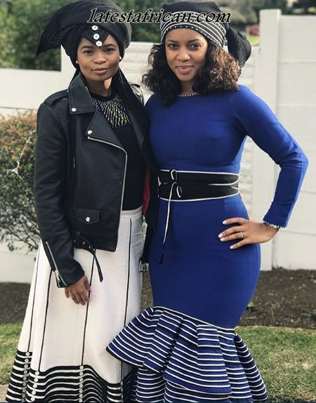 f7c11e1d619 Modern Xhosa traditional attire for wedding designs - Latest African
