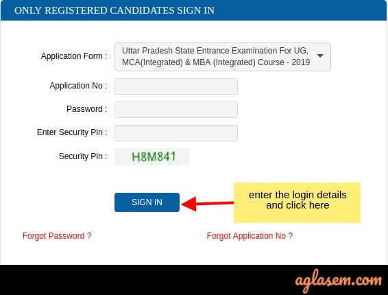 UPSEE 2019 Application Form Correction (Open) - Correct Mistakes At upsee.nic.in