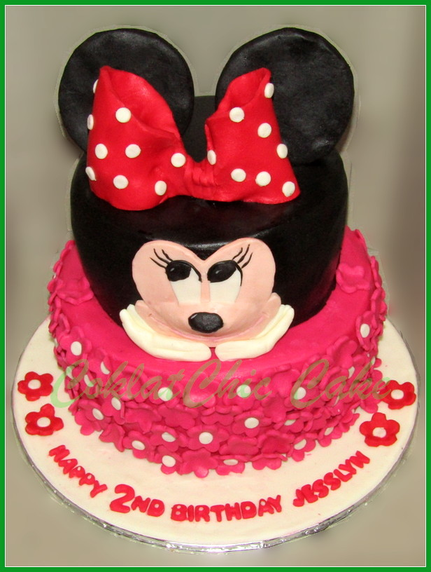 Cake Minnie Mouse JESSLYN 20 /1 5 cm