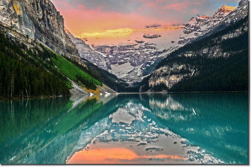 Lake Louise sunrise (6)