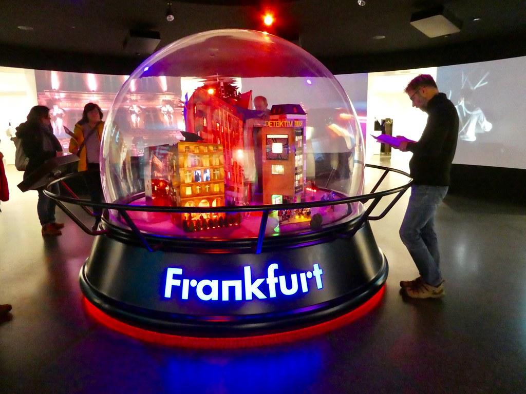 The Frankfurt Snow Globe in the Frankfurt History Museum