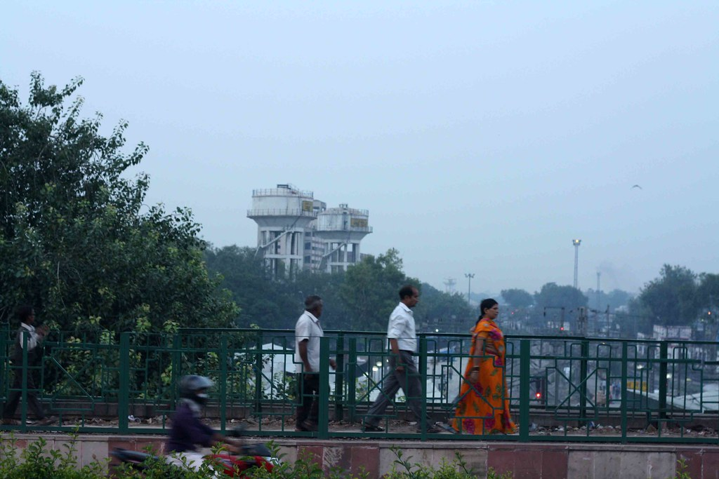 City Hangout - The Bridge Over the Railway Station, New Delhi