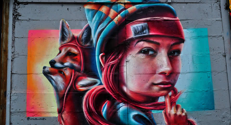 Street art in Stockholm, bekijk de tips | Mooistestedentrips.nl