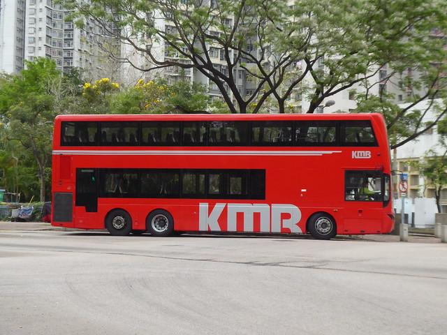 The offside of KMB WA 756 (AVBML1) , MCV bodied Volvo B8L .