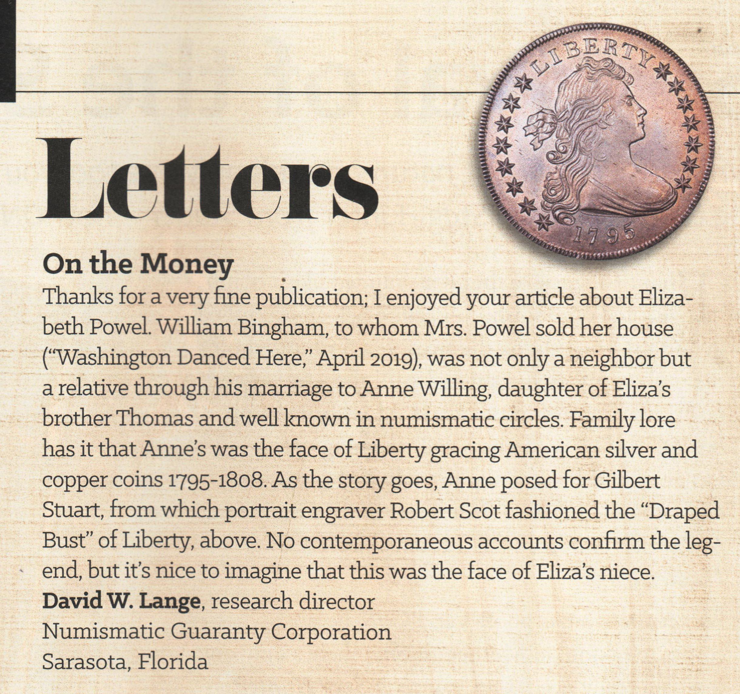 American History Magazine 6-19 detail