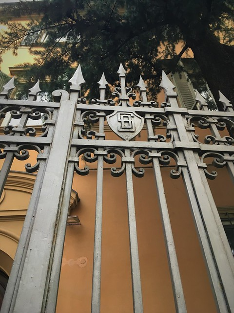 ironwork on via irnerio