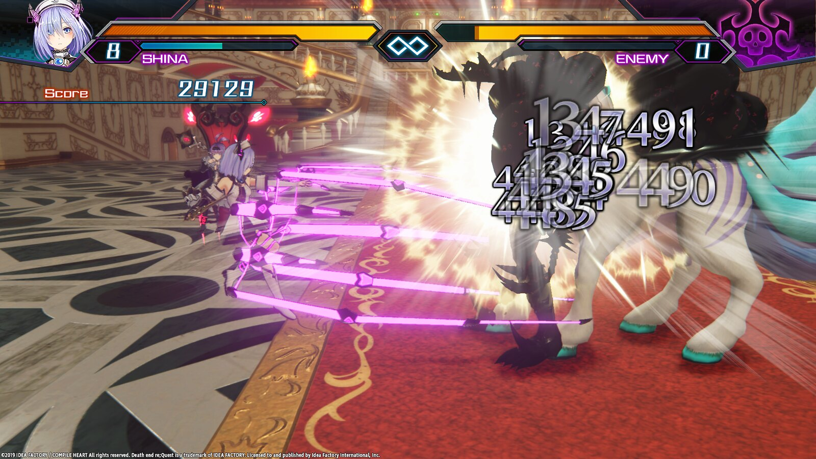 Genre-Swapping JRPG Death end re