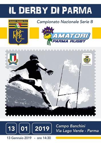 Locandina Derby di Parma