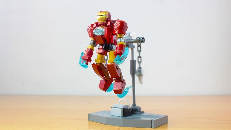 Lego Iron Man suit