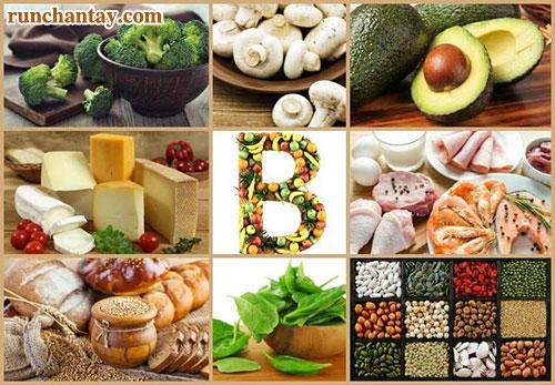 Các vitamin nhóm B rất quan trọng đối với hoạt động của hệ thần kinh