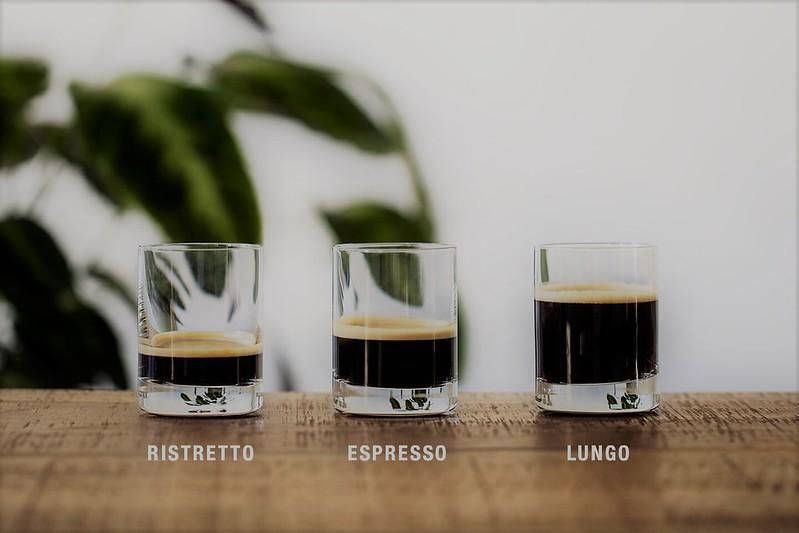 So sánh Espresso, Ristretto va Lungo