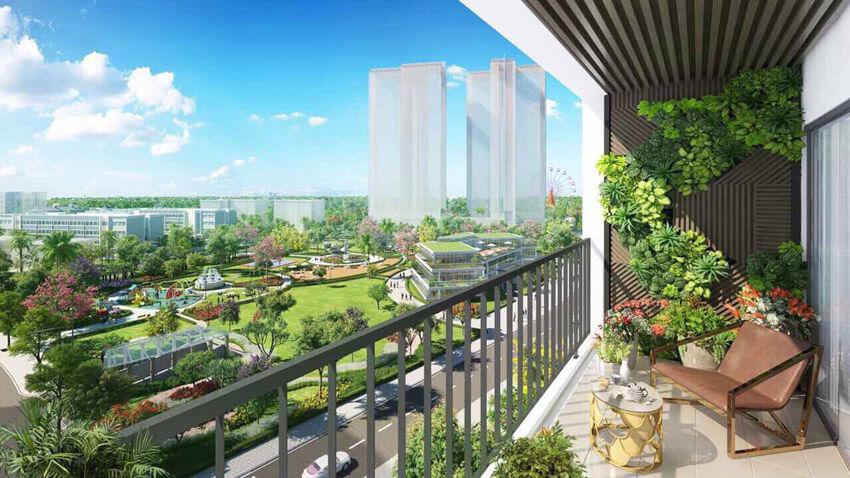 Phối cảnh công viên nội khu dự án Eco-Green Sài Gòn.