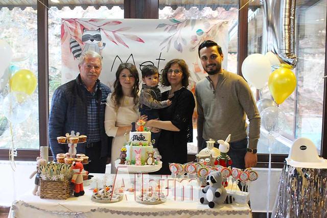 Minik Mete'ye özel yaş günü partisi