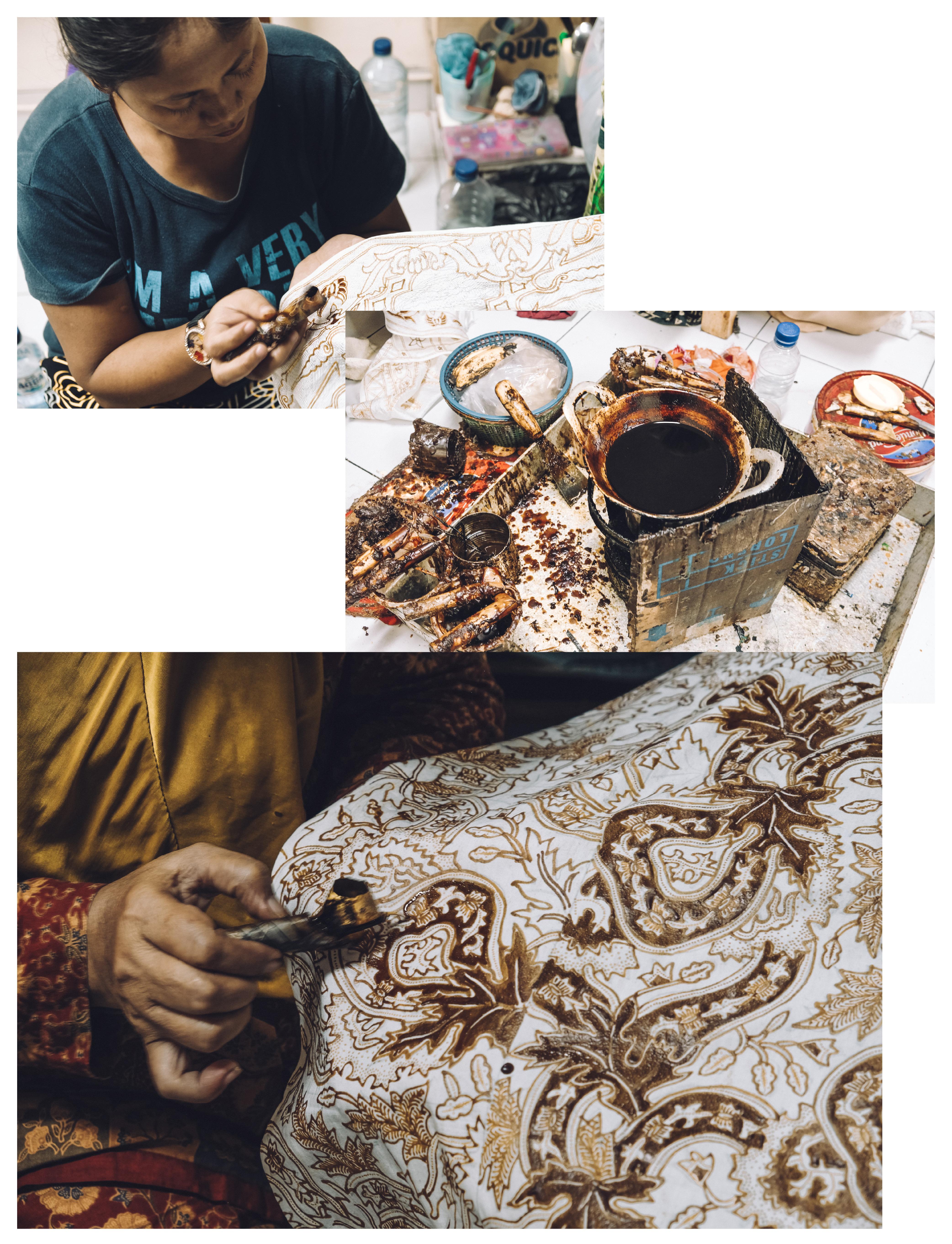 travel in indonesia: largest batik collection at Museum Batik Danar Hadi