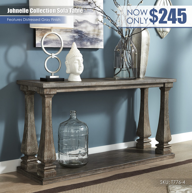 Johnelle Collection Sofa Table_T776-4