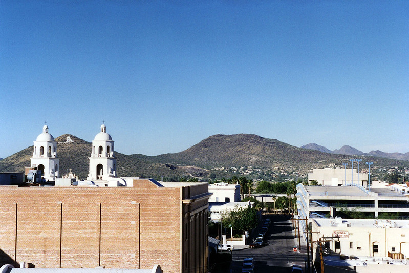 Hotel view of Tucson