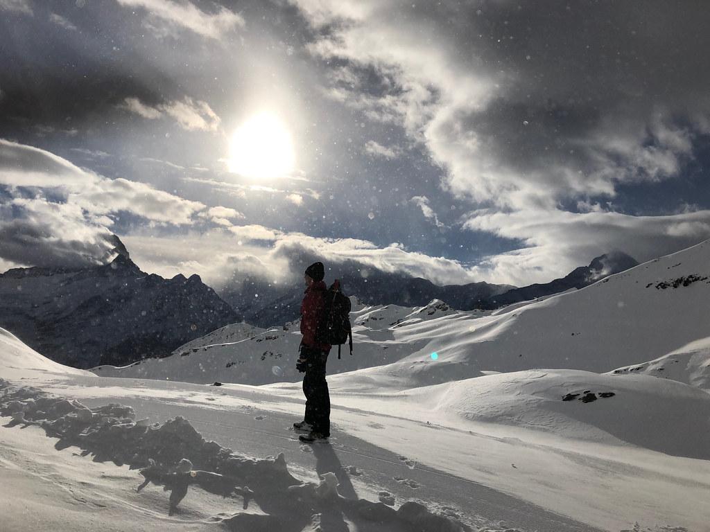 Grindelwald skiing Switzerland in October