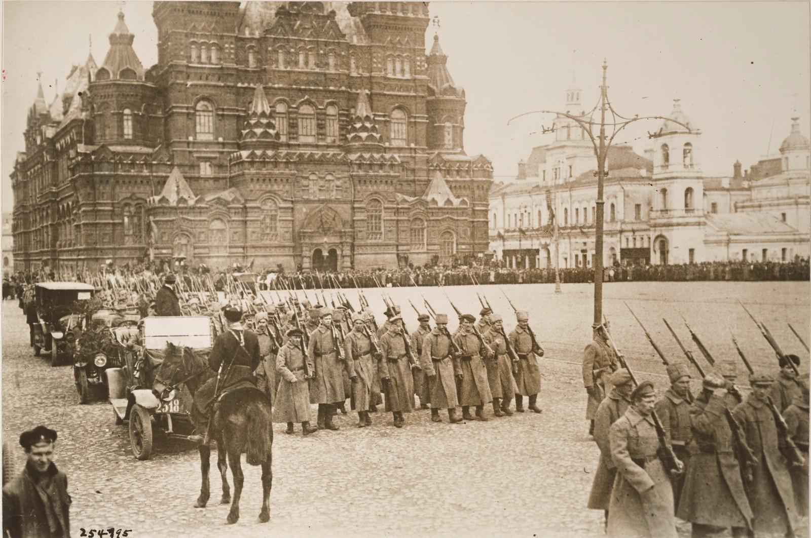 1917. Парад 4 сентября