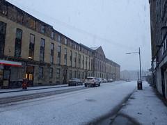 Snowy morning in Glasgow