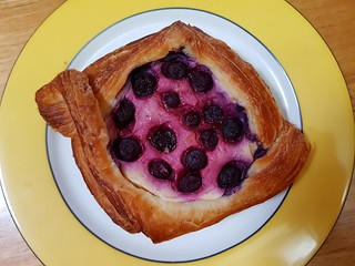 Blueberry Danish at Flora