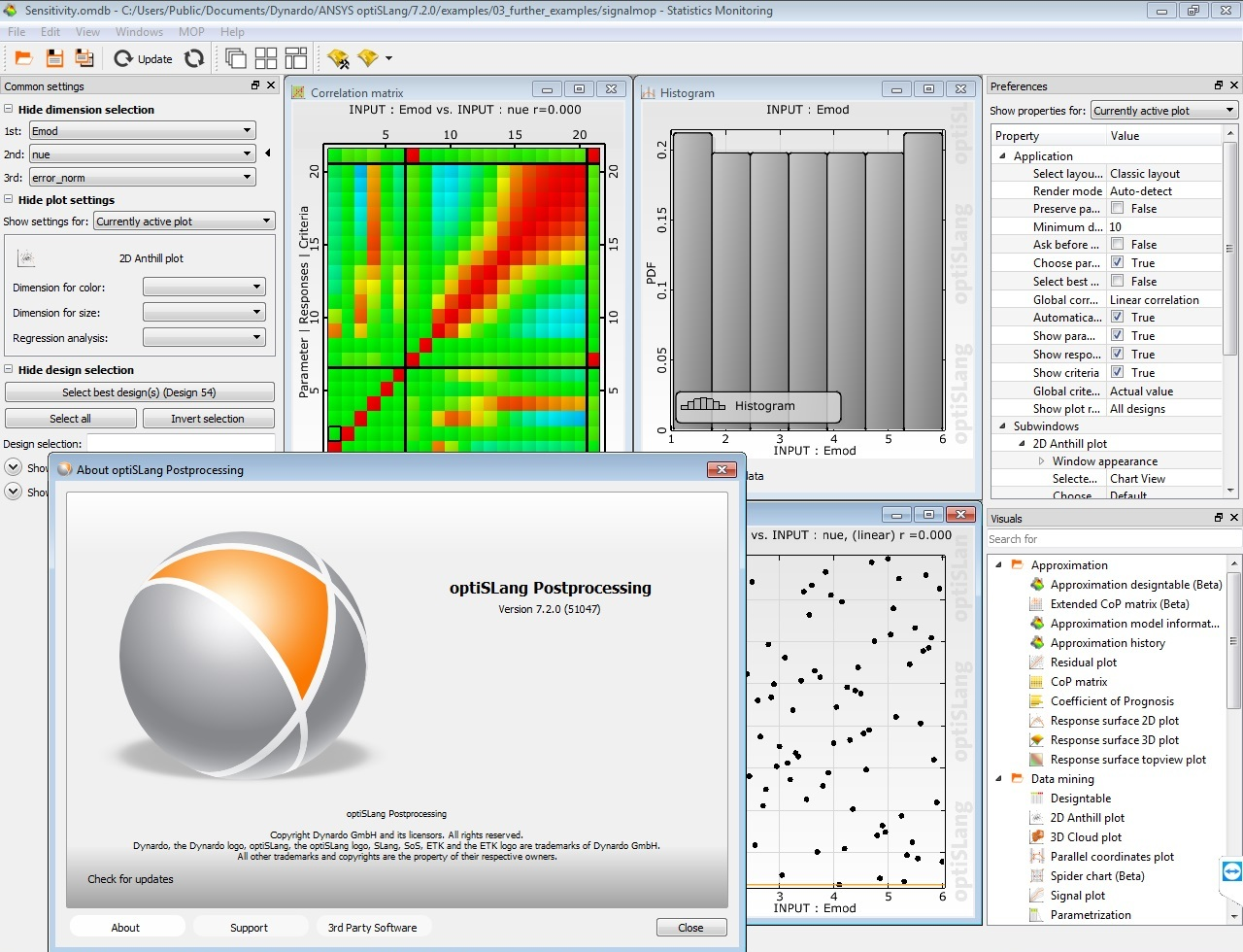 Working with ANSYS optiSLang 7.2.0.51047 full
