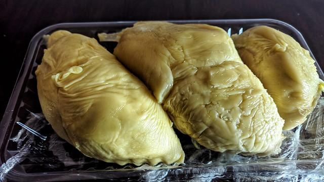 Store-Cut Durian