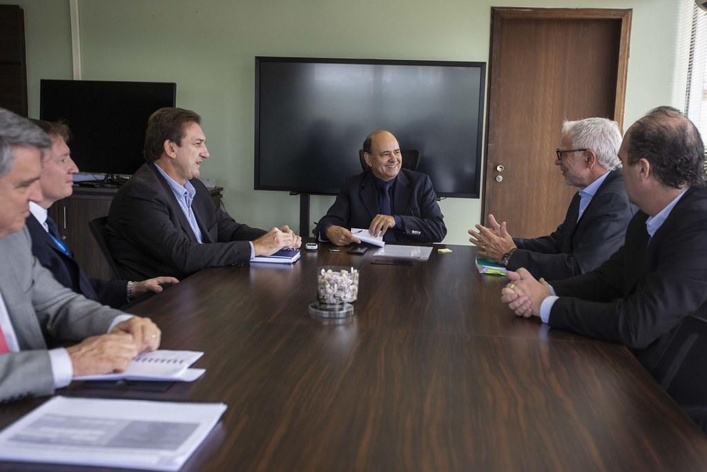 Reunião com Secretário Luiz Felipe Carbonell