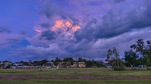 Storm approaching Brinkin, Darwin, NT, Australia