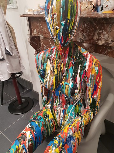My abstract hand painted mannequins... Do you want your own? Contact me: info@benheine.com  #painting #abstract #mannequin #bodypainting #creative #benheineart #dummy #art #peinture #abstrait #acrylic #acrylicpainting #artist #benheine #rochefort #belgium