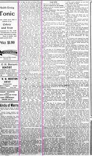 2019-02-27. Mize, Gazette, 7-13-1923