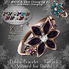 Zuri's Dahlia Scripted Elite Bracelet