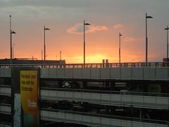 Sunset Over Carpark