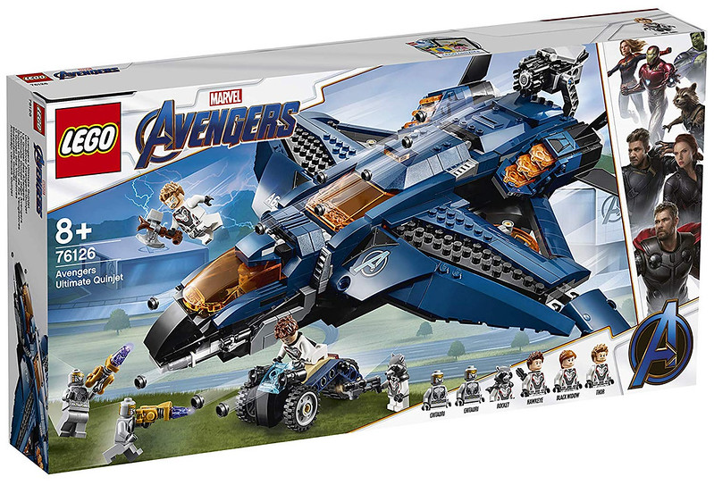 Avengers Ultimate Quinjet (76126)