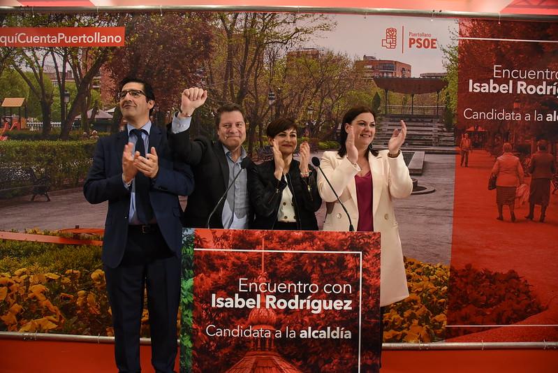 Presentación de la candidata de Puertollano