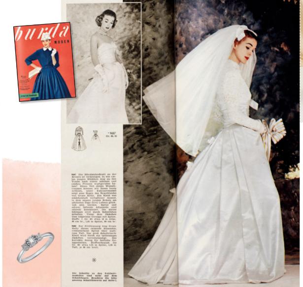Retro Wedding Dress Magazine