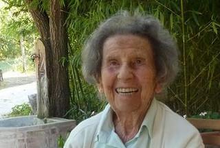 Emma Castelnuovo a 100 anni
