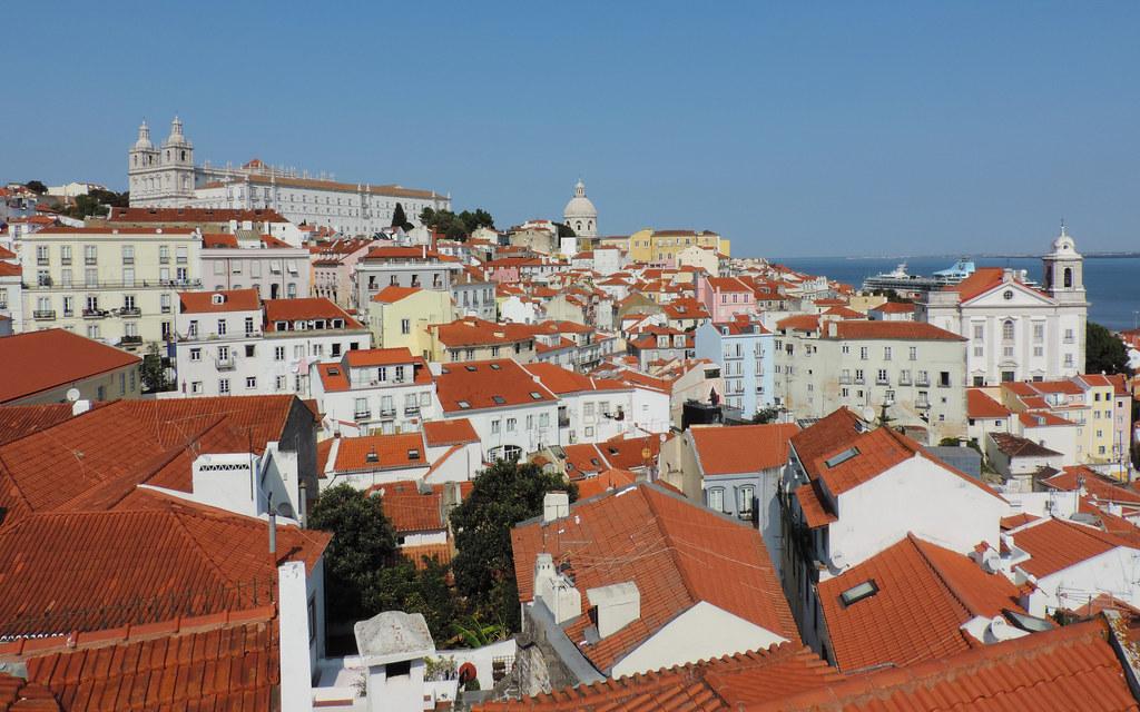 Miradouro das Portos do Sol, Lisbon, Portugal