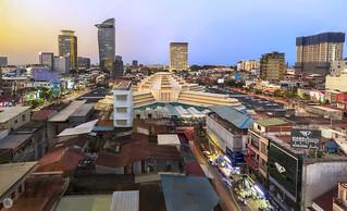 Cityscape of Phnom Penh [KH]