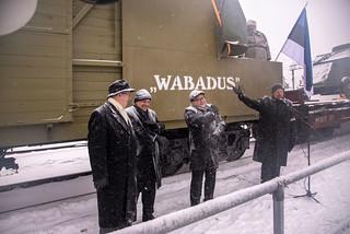 """Soomusrongi Nr 7 """"Wabadus"""" avamine Kehras 4. jaanuaril 2019"""
