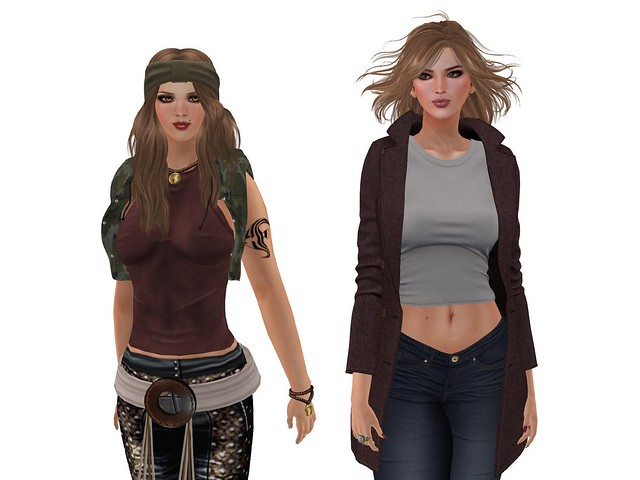 Then and Now #SecondLifeChallenge