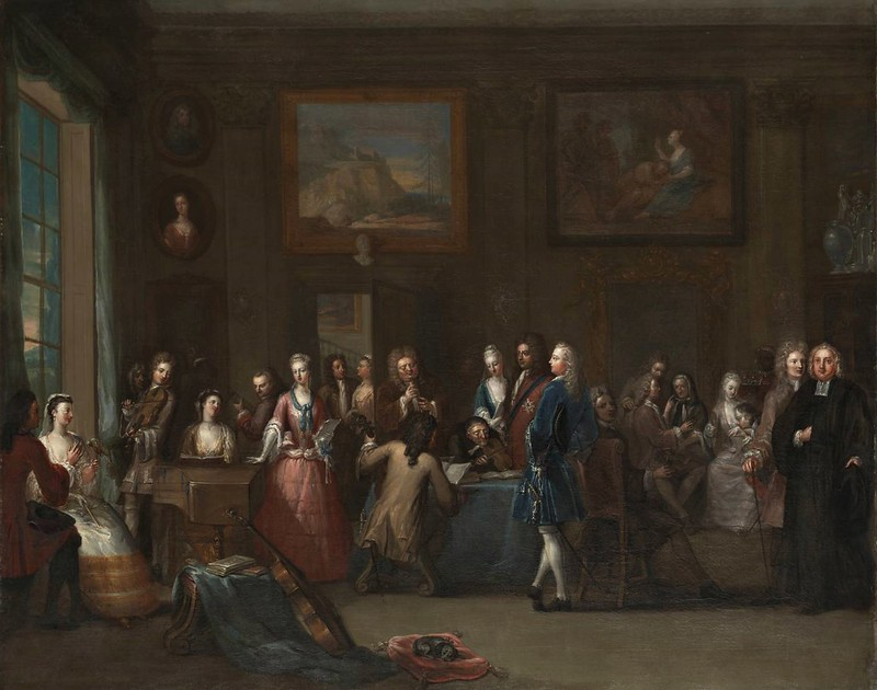 Marcellus Laroon - A Musical Assembly (c.1720)