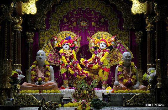 10 Feb 2019 Sringar Aarti Darshan ISKCON Juhu