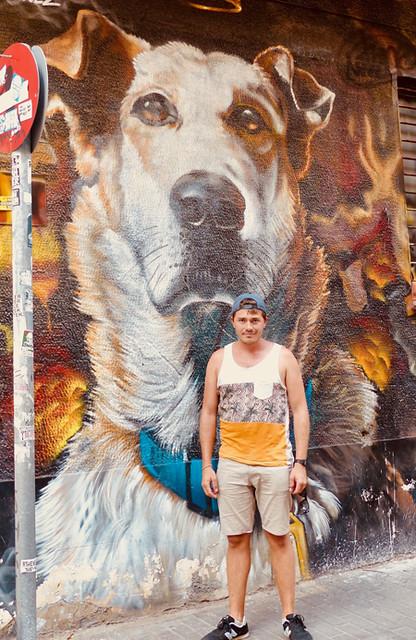 clem et chien