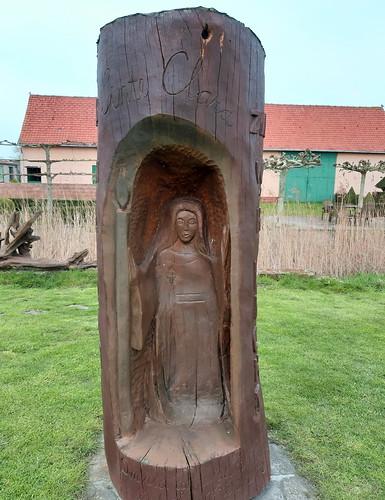houten skulptuur, Sante Clara