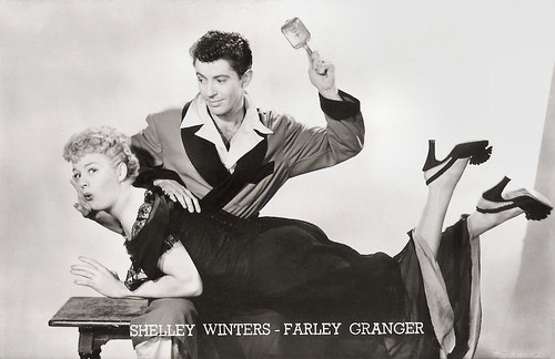 Shelley Winters and Farley Granger in Behave Yourself! (1951)